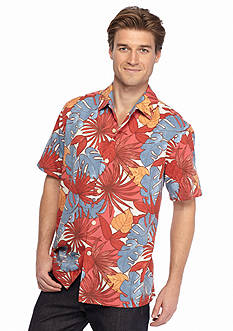 Tommy Bahama Short Sleeve Remy Retro Woven Shirt