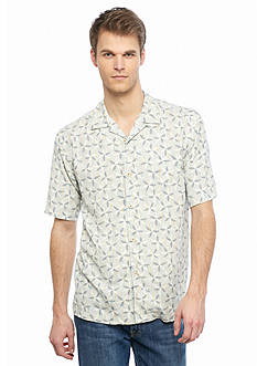 Tommy Bahama Levisha Stripe Short Sleeve Woven Shirt