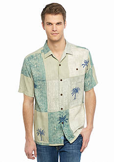 Tommy Bahama Tic Tac Palms Short Sleeve Woven Shirt
