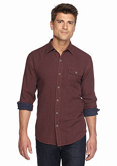 Tommy Bahama Long Sleeve Havana Squared Shirt