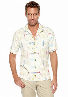 Tommy Bahama® San Mosaic Short Sleeve Woven Shirt