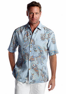 Tommy Bahama® Short Sleeve Spanish Town Paisley Shirt