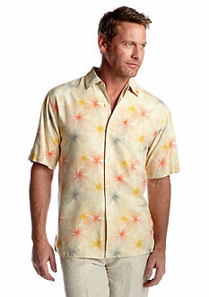 Tommy Bahama® Short Sleeve Etch-A-Bloom Woven Shirt