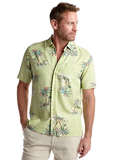 Tommy Bahama® Short Sleeve Ocho Oasis Woven Shirt