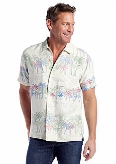 Tommy Bahama® Palm Selleck Woven Shirt