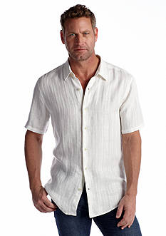 Tommy Bahama® Short Sleeve Oh My Tosh Stripe Shirt