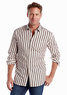 Tommy Bahama® Long Sleeve Rail Time Woven Shirt