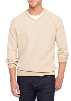 Tommy Bahama Make Mine A Double Reversible V-Neckline Sweater
