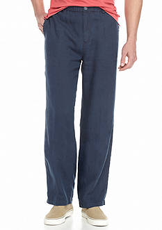 Tommy Bahama Loose Fit New Linen On The Beach Flat Front Pants
