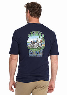 Tommy Bahama Fore Wheel Drive Graphic Tee