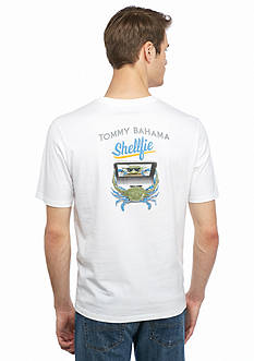 Tommy Bahama Shellfie Short Sleeve Graphic Tee