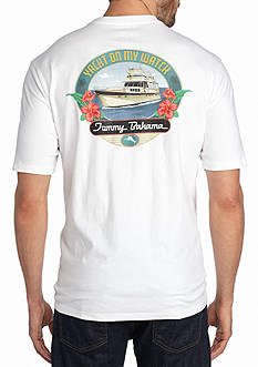 Tommy Bahama Yacht On My Watch Short Sleeve Graphic Tee