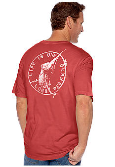 Tommy Bahama Life is One Long Weekend Tee
