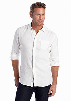 Tommy Bahama Long Sleeve Sea Glass Breezer Woven Shirt