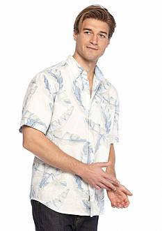 Tommy Bahama Short Sleeve South of Fronds Breezer Woven Shirt
