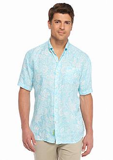 Tommy Bahama Short Sleeve Belleville Botanical Breezer Shirt