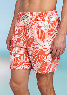 Tommy Bahama Naples Painterly Palm Swim Trunks