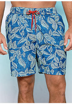 Tommy Bahama Tile Me Up Swim Trunks