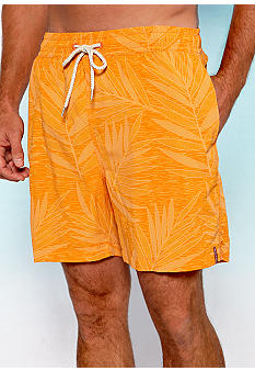 Tommy Bahama Leaf Overboard Trunks