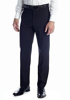Calvin Klein Flat Front Wrinkle Resistant Pants