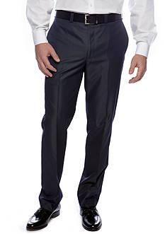 Calvin Klein Modern Fit Flat Front Dress Pants