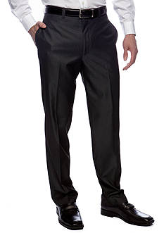 Calvin Klein Modern Fit Flat Front Dress Pants