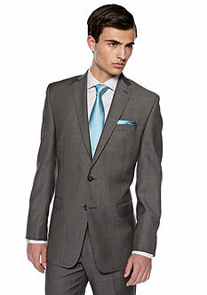 Calvin Klein Slim Fit Charcoal Neat Suit Separate Coat