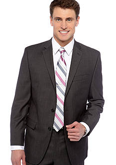 Calvin Klein Slim Fit Herringbone Suit Separate Coat
