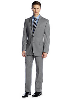 Calvin Klein Slim Fit Gray Solid Suit
