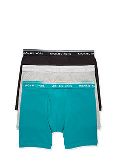 Michael Kors Essentials Cotton Boxer Briefs - 3 Pack
