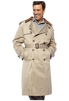 Lauren Ralph Lauren Tailored Clothing Edmond Full Length Trench Coat