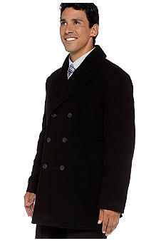 Lauren Ralph Lauren Tailored Clothing Mariner Double-Breasted Peacoat