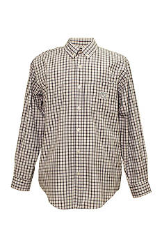 Campus Specialties UNC Tar Heels Tri-Color Check Woven Shirt
