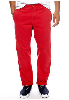 Chor Red Slim Fit Chinos