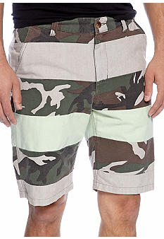Chor Oxford Camo Shorts