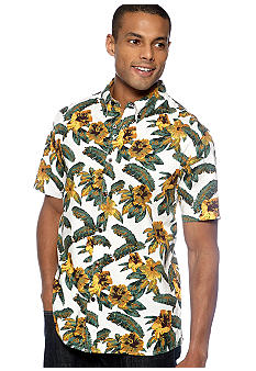 Chor Hawaiian Print Shirt