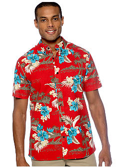 Chor Tropical Print Shirt
