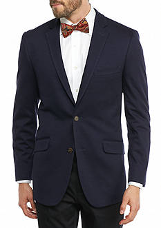 Madison Slim-Fit Navy Knit Sport Coat