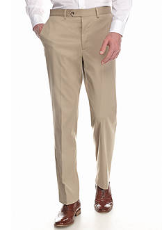 Madison Slim-Fit Suit Separate Flat-Front Pants