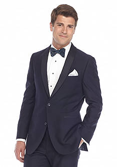 Madison Tuxedo Navy Slim-Fit Suit Separate Coat