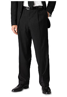 Geoffrey Beene Modern Fit Black Stripe Suit Separate Trousers