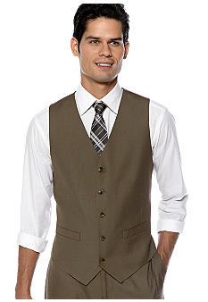 Geoffrey Beene 2-Pocket Suit Separate Vest