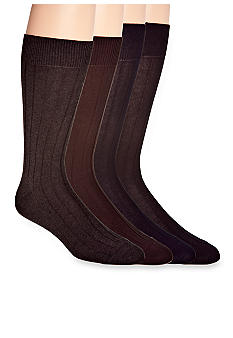 Cole Haan Rib Pimma Cotton Socks- Single Pair
