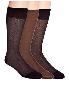 Cole Haan Nail Head Pima Cotton Socks - Single Pair