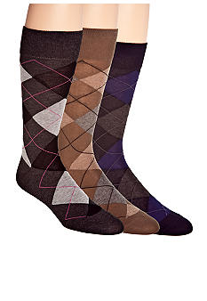 Cole Haan Argyle Socks- Single Pair