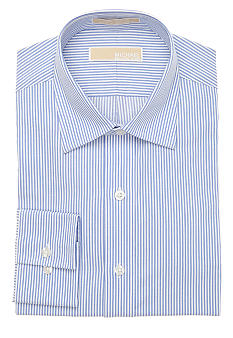 MICHAEL Michael Kors Blue Stripe Dress Shirt