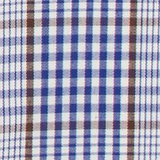 Young Mens Dress Shirts: 100% Cotton: Bright Blue MICHAEL Michael Kors Classic Fit Non Iron Check Dress Shirt
