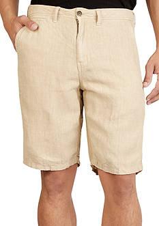 Lucky Brand Linen Flatfront Shorts