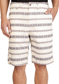 Lucky Brand Jacquard Flat Front Shorts