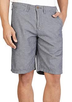 Lucky Brand Linen Flat Front Shorts